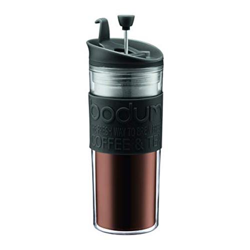 BODUM 0.45L擠壓式咖啡壺 11100-01 黑