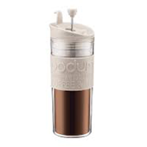 BODUM 0.45L擠壓式咖啡壺 11100-913 白