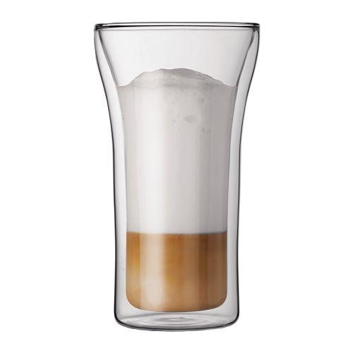 BODUM 0.4L雙層玻璃杯 4547-10 兩隻裝