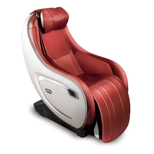 OTO 超級挨挨鬆按摩椅/豪華版 EQ-09S紅