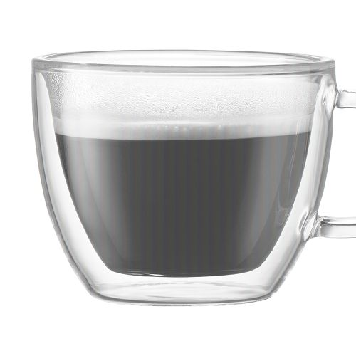 BODUM 0.15L雙層玻璃杯 10602-10 兩隻裝