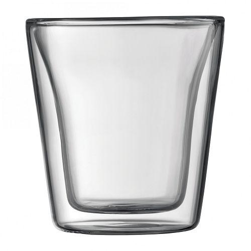BODUM 0.1L雙層玻璃杯 10108-10 兩隻裝