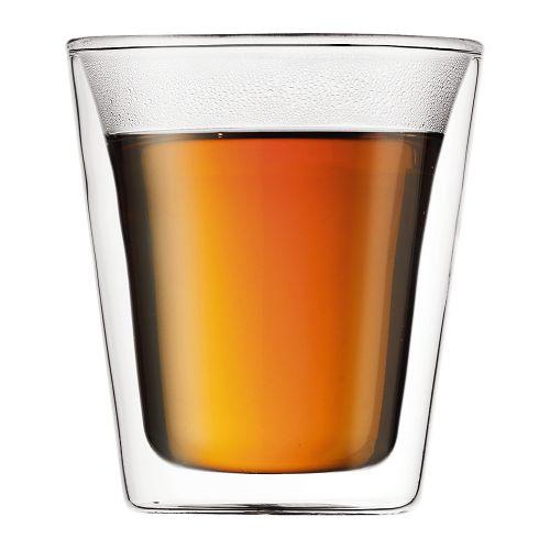 BODUM 0.2L雙層玻璃杯 10109-10 兩隻裝