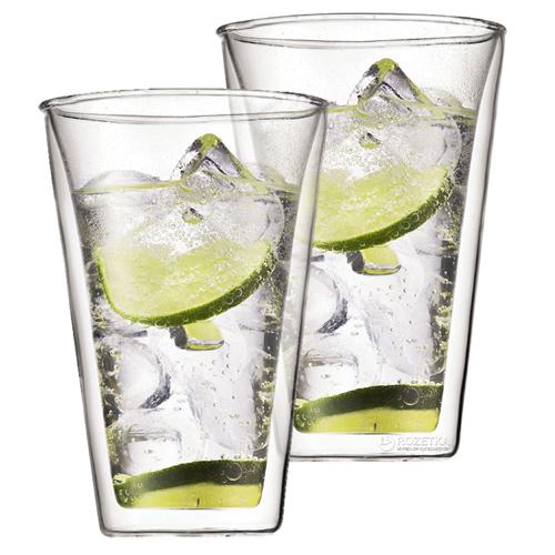 BODUM 0.4L雙層玻璃杯 10110-10 兩隻裝
