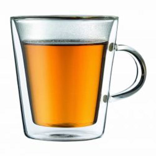 BODUM 0.2L雙層玻璃杯 10325-10 兩隻裝