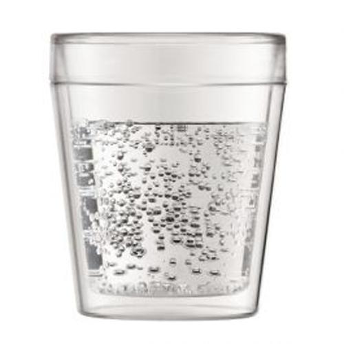 BODUM 0.25L雙層玻璃杯 11614-10 兩隻裝