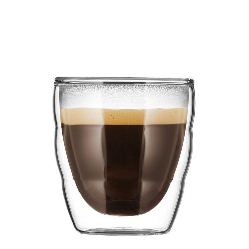 BODUM 0.08L雙層玻璃杯 11477-10 兩隻裝