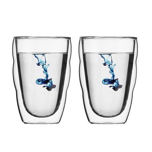 BODUM 0.35L雙層玻璃杯 10485-10 兩隻裝