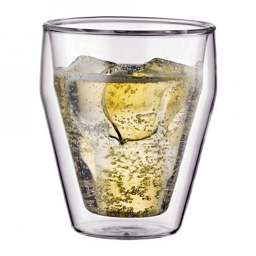 BODUM 0.25L雙層玻璃杯 10481-10 兩隻裝