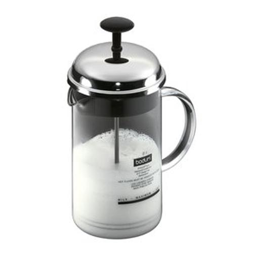 BODUM 0.25L牛奶打泡壺 1966-16 銀