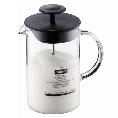 BODUM 0.25L牛奶打泡壺 1446-01 黑