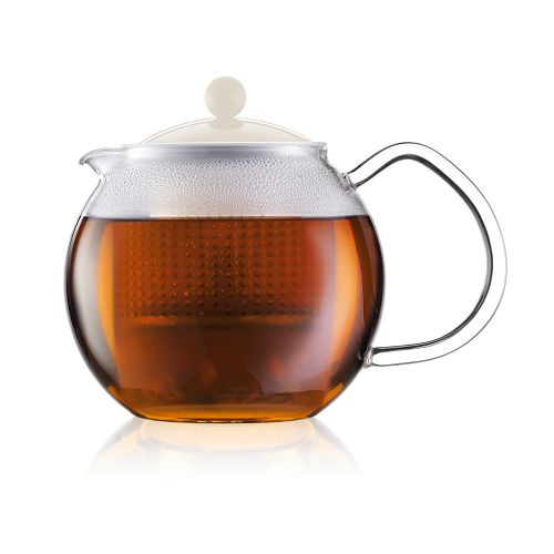 BODUM 0.5L茶壺 1823-913 白