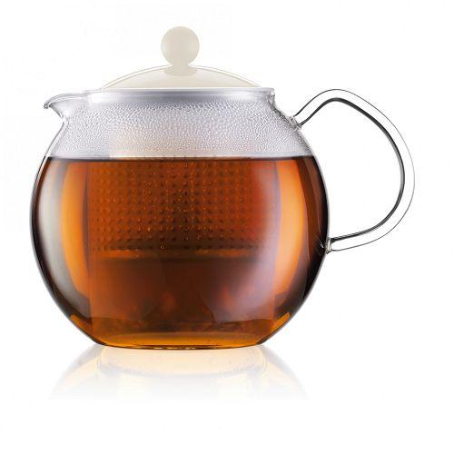 BODUM 1.0L茶壺 1830-913 白