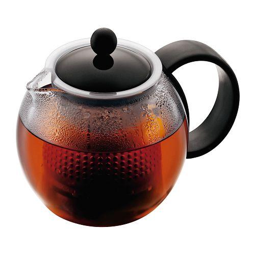 BODUM 0.5L茶壺 1842-01GVP 黑