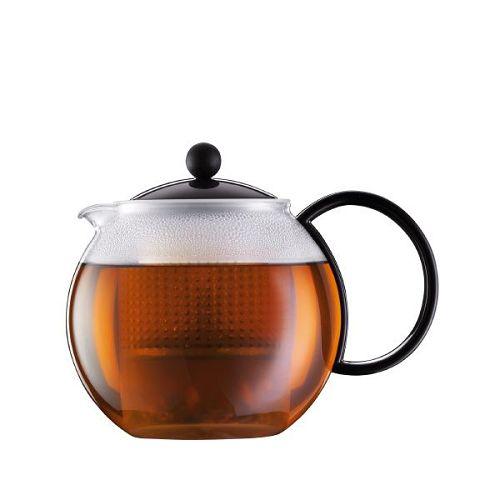 BODUM 1.0L茶壺 1844-01 黑