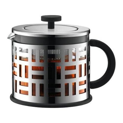 BODUM 1.5L擠壓式茶壺 11199-16 銀