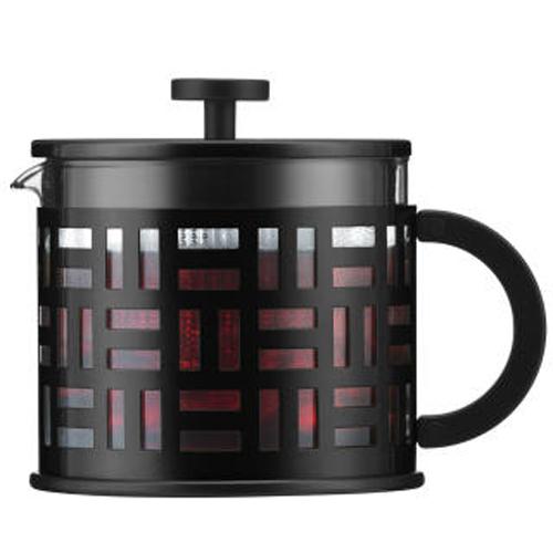BODUM 1.5L擠壓式茶壺 11199-01 黑