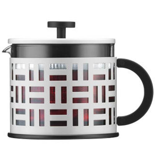 BODUM 1.5L擠壓式茶壺 11199-913 白