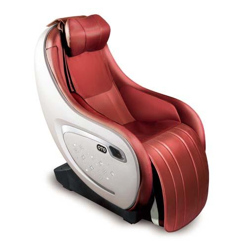 OTO 超級挨挨鬆按摩椅/水晶版 EQ-09SC紅