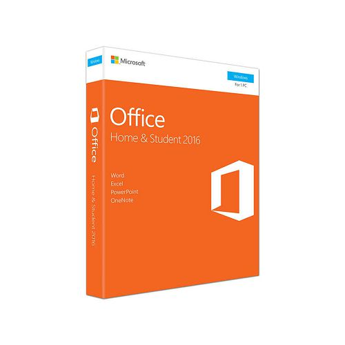 Microsoft Office Home and Student 2016 Win English software