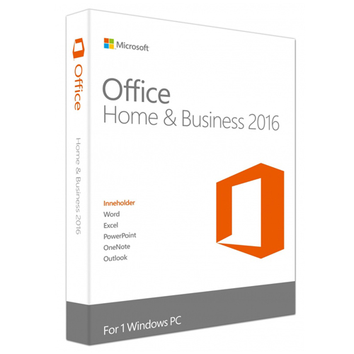 Microsoft Office Home and Business2016Win ChnnTrad software