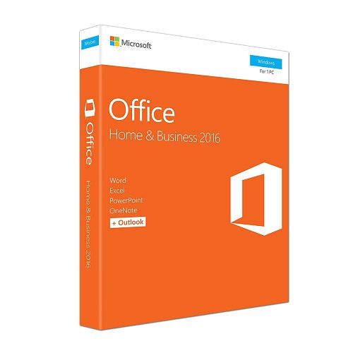 Microsoft Office Home and Business2016Win English software