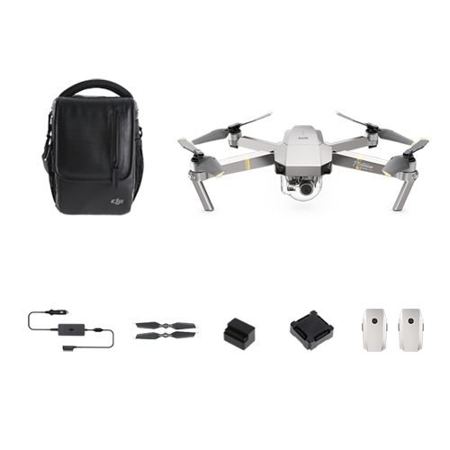 DJI Mavic Pro Platinum-Fly More combo
