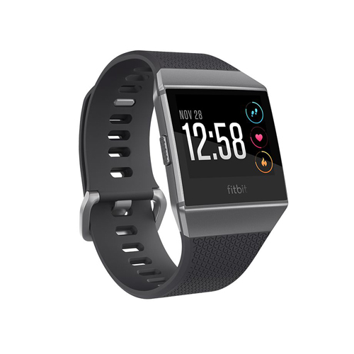 Fitbit ionic Charcoal/Smoke Gray