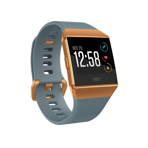 Fitbit ionic Slate Blue/Burnt Orange
