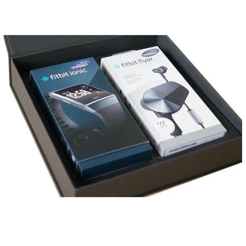 Fitbit ionic + flyer Bundle Set FB503GYBK + FB601BU