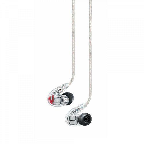 SHURE 耳道式三音路四單體隔音耳機 SE846-CL-A 透明