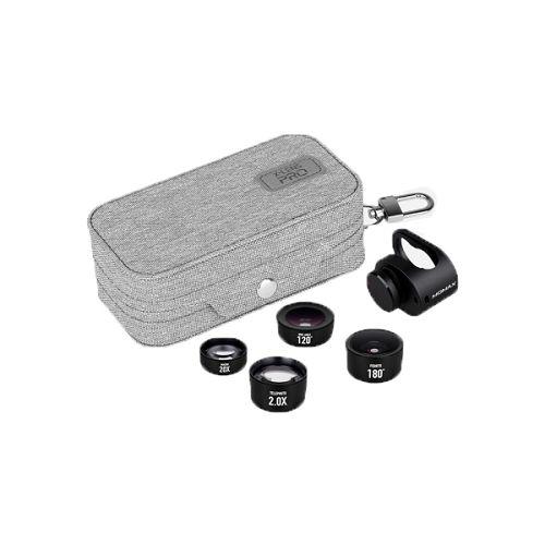 MOMAX ^X-Lens Pro 4合1鏡頭組合[進階版] 黑