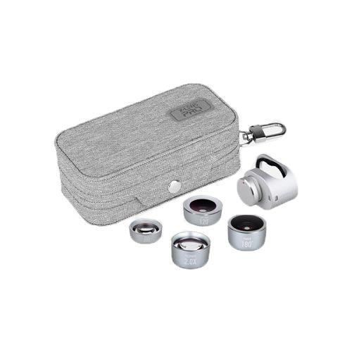 MOMAX ^X-Lens Pro 4合1鏡頭組合[進階版] 銀