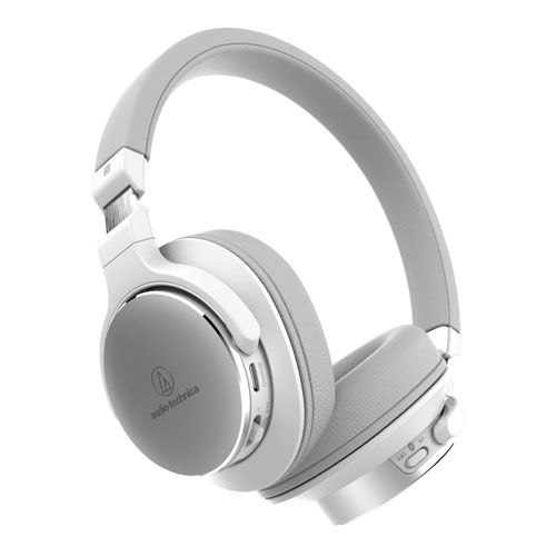 audio-tech SR Bluetooth Portable Headphones 白 ATH-SR5BT WH
