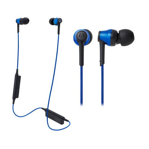 audio-tech Bluetooth In-Ear Earphones 藍 ATH-CKR35BT BL