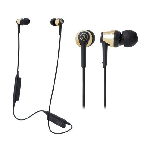 audio-tech Bluetooth In-Ear Earphones 金 ATH-CKR35BT GD
