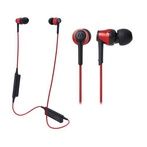audio-tech Bluetooth In-Ear Earphones 紅 ATH-CKR35BT RD