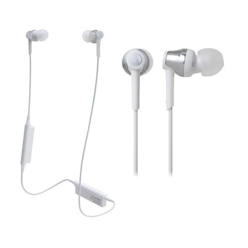 audio-tech Bluetooth In-Ear Earphones 銀 ATH-CKR35BT SV