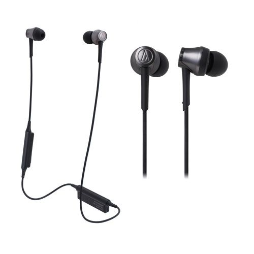 audio-tech Bluetooth In-Ear Earphones 黑 ATH-CKR55BT BK