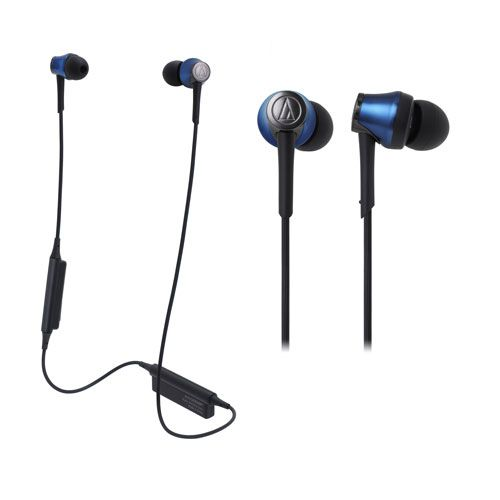 audio-tech Bluetooth In-Ear Earphones 藍 ATH-CKR55BT BL