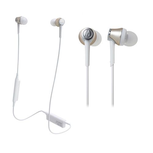audio-tech Bluetooth In-Ear Earphones 金 ATH-CKR55BT CG