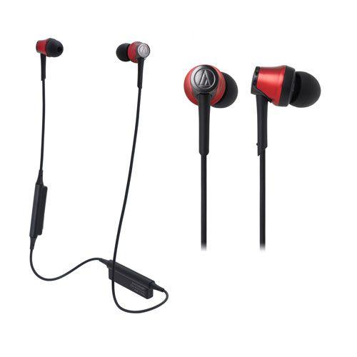 audio-tech Bluetooth In-Ear Earphones 紅 ATH-CKR55BT RD
