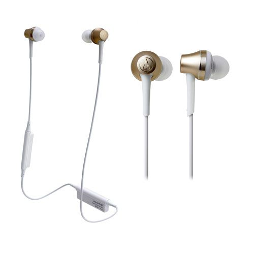 audio-tech Bluetooth In-Ear Earphones 金 ATH-CKR75BT CG