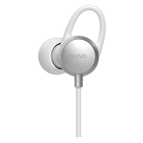 NUARL [A]Bluetooth Stereo Earphones NB20C Silver