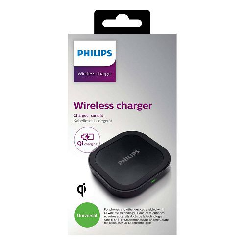 Philips Qi Wireless Charger DLP9011 Black