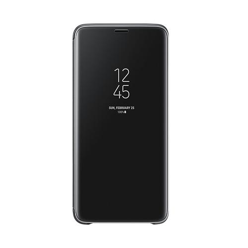 Samsung S9+ 鏡面透視感應皮套  Black
