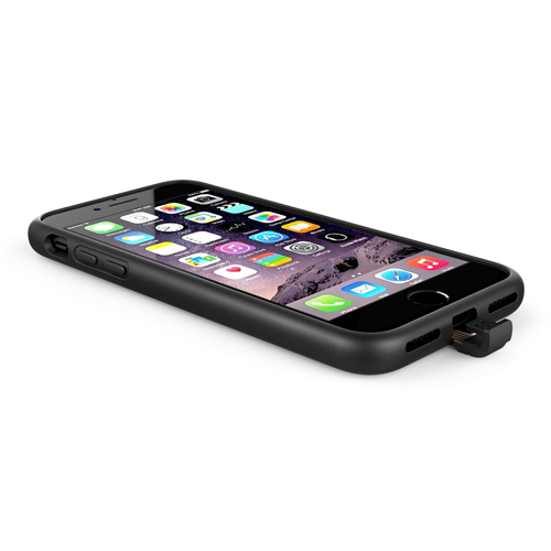 X-Level 360 Qi Wireless Charge Case [Black] iPhone 7/6s/6