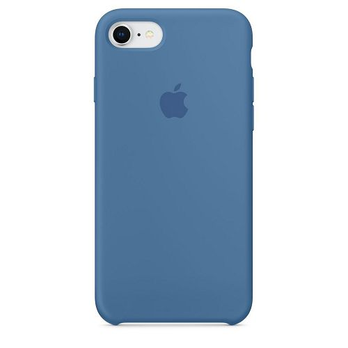 APPLE iPhone 8 / 7 Silicone Case Demin Blue