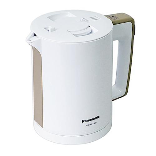 PANASONIC 0.8L電熱水壼 NC-HKT081白