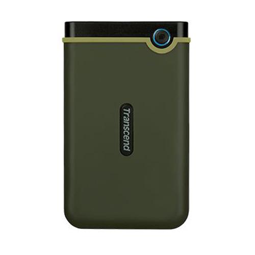 Transcend StoreJet頂級防震行動硬盤 1TB 軍綠25M3 USB3.0